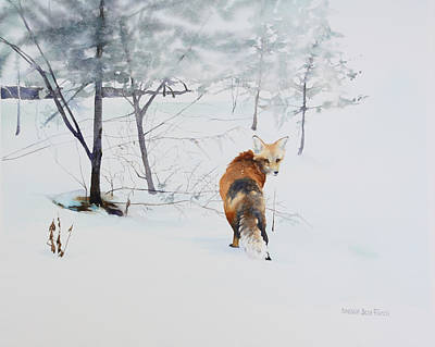 Painting - Winter Visitor by Brenda Beck Fisher