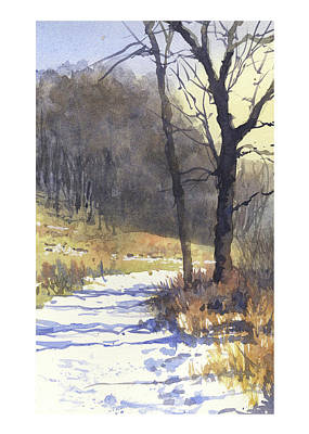 Painting - Winter Walk by James Faecke