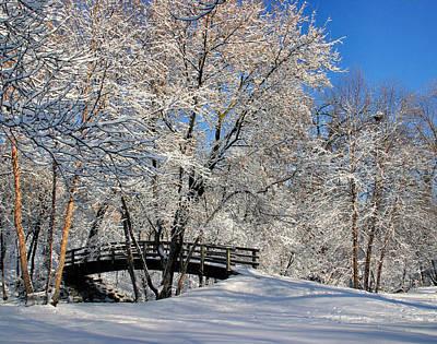 Pucker Up - Winter Walk by Kristin Elmquist