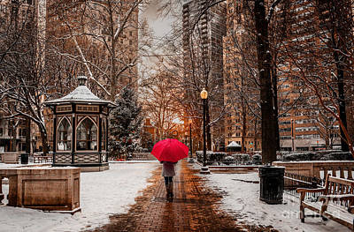 Photograph - Winter Walk by Stacey Granger