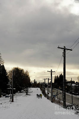Photograph - Winter Walk Vancouver by John  Mitchell