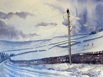 Painting - Winter Walkers by Glenn Marshall