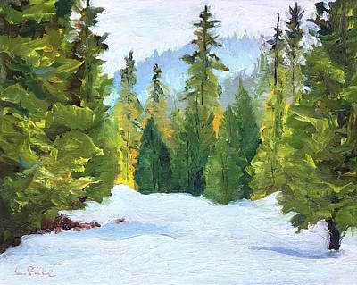 Painting - Winter Wandering by Chris Rice