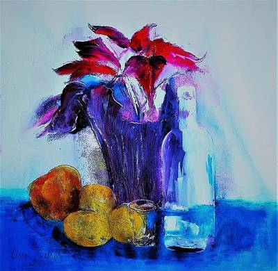 Still Life Painting - Winter Warm Up II by Lisa Kaiser