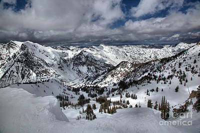 Photograph - Winter Wasatch Views by Adam Jewell