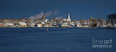 Photograph - Winter Waterfront by Butch Lombardi