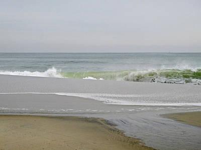 Photograph - Winter Waves 2 by Ellen Paull