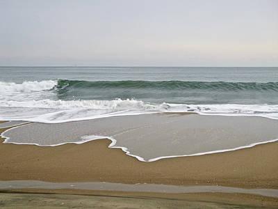 Photograph - Winter Waves 3 by Ellen Paull