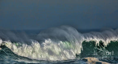 Photograph - Winter Waves And Veil by Shirley Mangini