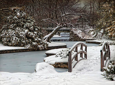 Lee Winter Photograph - Winter Welcome by Robin-lee Vieira