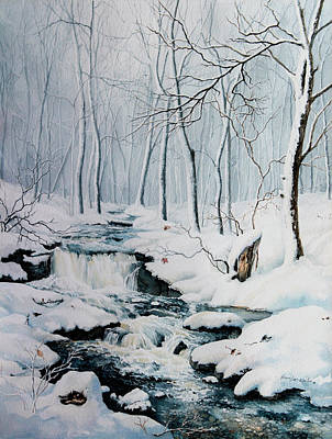 Whisper Painting - Winter Whispers by Hanne Lore Koehler