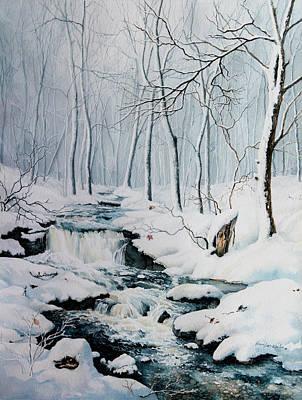 Winter Whispers Art Print by Hanne Lore Koehler