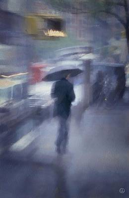 Rain Digital Art - Winter Without Snow by Gun Legler