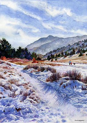Winter Wonderland Original by Anne Gifford