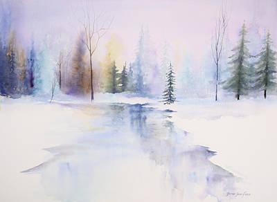 Painting - Winter Wonderland by Brenda Beck Fisher