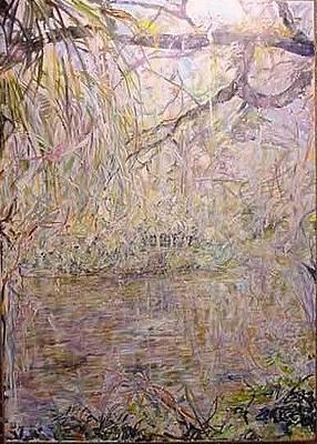 Painting - Winter Wonderland by Caroline Krieger Comings