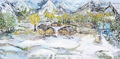 Winter Wonderland Original by Evelina Popilian