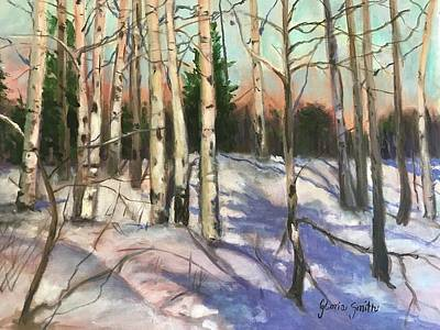 Painting - Winter Wonderland  by Gloria Smith