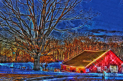 Photograph - Winter Wonderland Hdr  by September  Stone