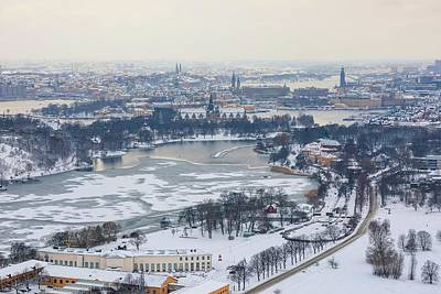 Photograph - Winter Wonderland In Stockholm by Dejan Kostic