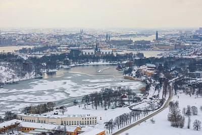 Photograph - Winter Wonderland In Stockholm by Dejan Kostic