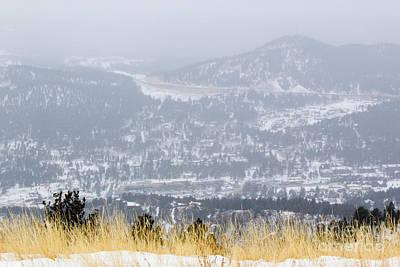 Photograph - Winter Wonderland In Woodland Park by Steve Krull