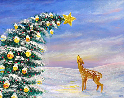 Painting - Winter Wonderland by Mandy Elliott