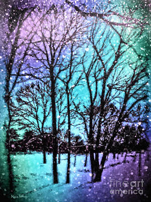Digital Art - Winter Wonderland Painting by Alicia Hollinger