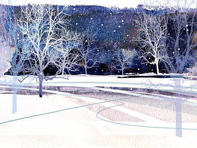Painting - Winter Wonderland by Paul Sachtleben