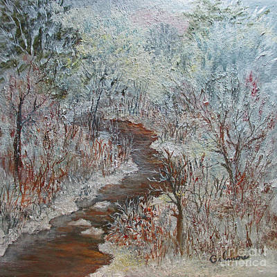 Painting - Winter Wonderland by Roseann Gilmore