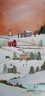 Painting - Winter Wonderland by Virginia Coyle