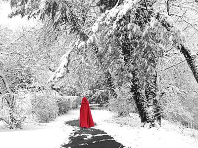 Winter Wonderland Walk II Art Print by Jessica Jenney