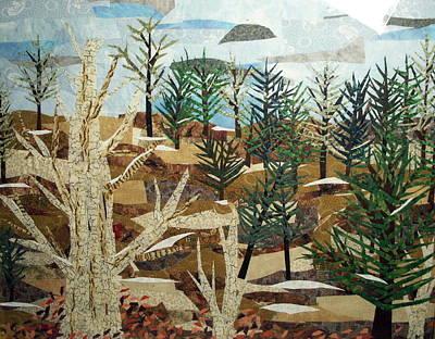 Winter Woods Art Print by Charlene White