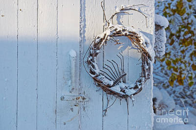 Photograph - Winter Wreath by David Arment