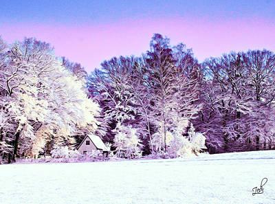 Digital Art - Winter by Zedi