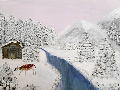 Painting - Wintertime by Bernd Hau