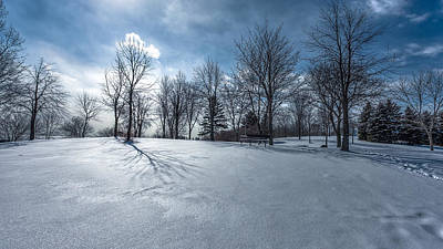 Photograph - Winterland by Anthony Rego