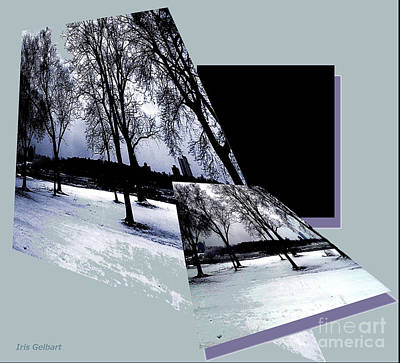 Digital Art - Winterland by Iris Gelbart
