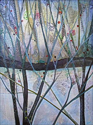 Icy Painting - Winterlude by Shadia Derbyshire