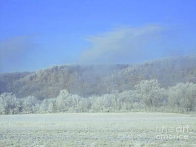 Winter's An Etching... Art Print