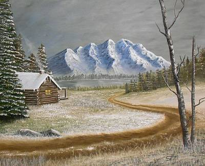 Painting - Winter's Arrival by Sheri Keith