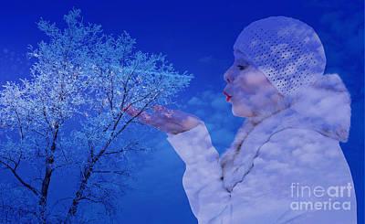 Photograph - Winter's Breath  by Ed Churchill