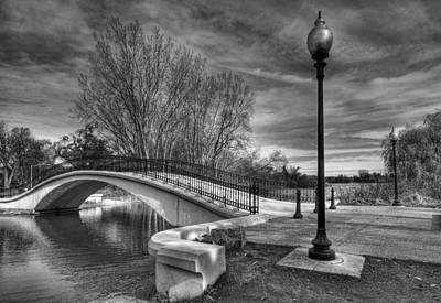 Photograph - Winter's Bridge by Rodney Campbell