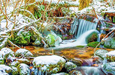 Photograph - Winters Creek by Jason Brooks