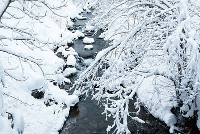 Photograph - Winters Creek- by JD Mims