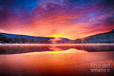 Photograph - Winter's Day Break by Anthony Bonafede