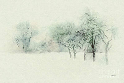 Photograph - Winter's Day by Jutta Maria Pusl