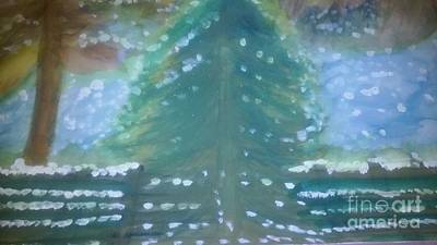 Bright Painting - Winters Day by Stephanie Zelaya