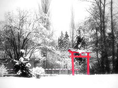 Photograph - Winter's Entrance by Tara Turner
