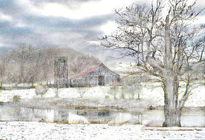 Photograph - Winters Eve by William Griffin